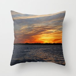 Changes on the Caloosahatchee I Throw Pillow