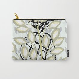 Tree with Pineapple and Leaf pattern Carry-All Pouch