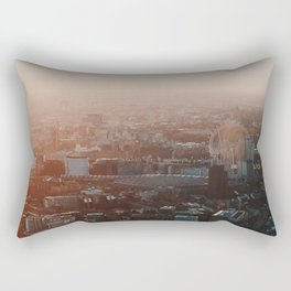 View from the top of the Shard, London, UK Rectangular Pillow
