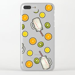 Summer fruit #society6 Clear iPhone Case