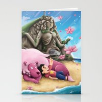 steven universe Stationery Cards featuring Steven Universe by toibi