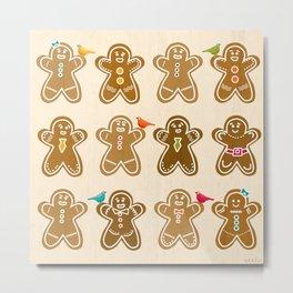 Ginger Metal Print