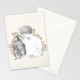 Louis and the chimp Stationery Cards