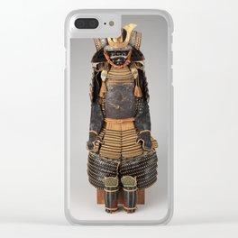 Historical Samurai Armor Photograph (17th-18th Century) Clear iPhone Case