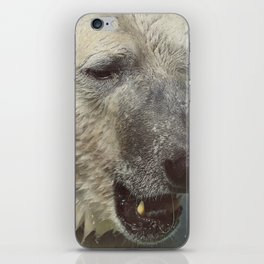 Polar Bear Face Closeup | Animal Photography | Wildlife Art iPhone Skin