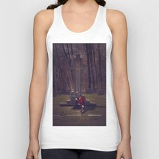 Moving On Unisex Tank Top