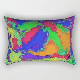 A gentle stir Rectangular Pillow