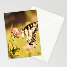 YELLOW SWALLOWTAIL BUTTERFLY Stationery Cards