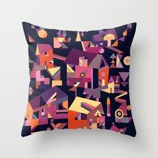 Structura 9 Throw Pillow