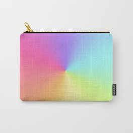 Rainbow Swirl Art Unicorn Colours Digital Art Carry-All Pouch