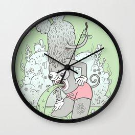 knee deep Wall Clock