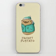 Jacket Pugtato iPhone & iPod Skin