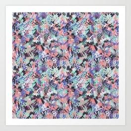 Aquarius - Paint Splatters Art Print