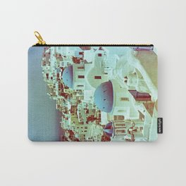 Santorini in Raspberry and Blue: shot using Revolog 600nm special effects film Carry-All Pouch