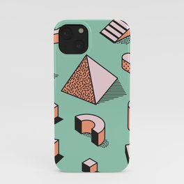Retro Memphis Pattern iPhone Case