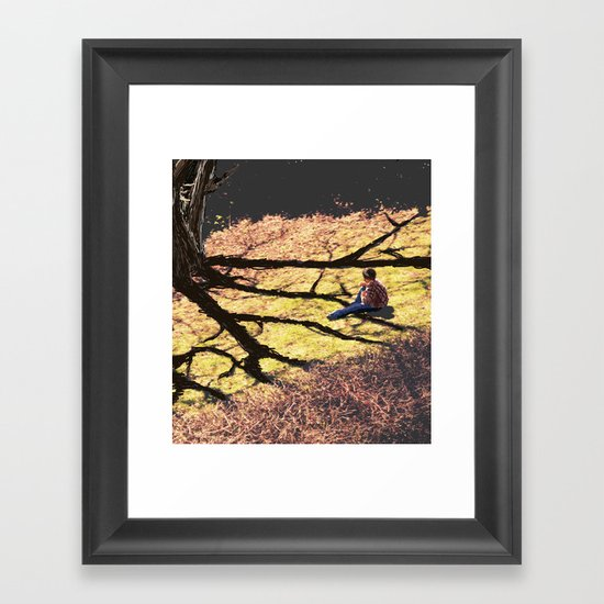 Sail Away in a Daydream Framed Art Print