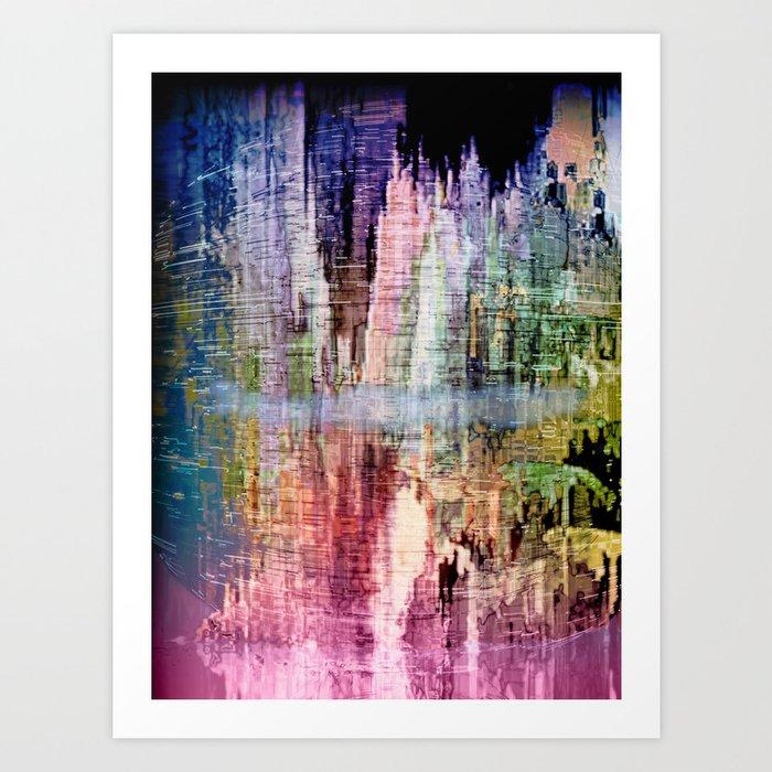 Born in a Wonderful World Art Print