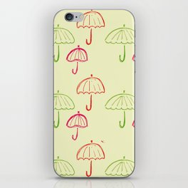 Happy Umbrella iPhone Skin