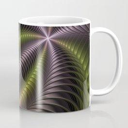 Powerful Movement, Psychedelic Fractal Art Coffee Mug