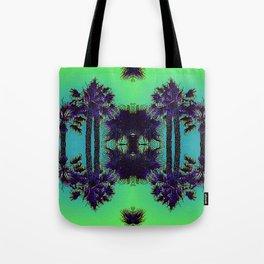 Hawaiian Neon Summer Nights Tote Bag