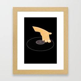 Dj Scratch Framed Art Print