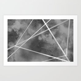 """Interdimensional Highway"" Digital Painting // Fine Art Print Art Print"