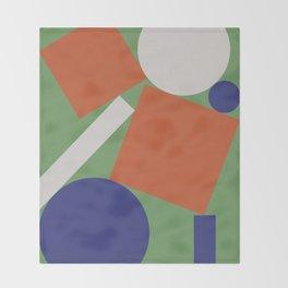 Geometry III Throw Blanket