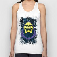 skeletor Tank Tops featuring Skeletor by Some_Designs
