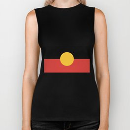 Australian Aboriginal Flag Biker Tank