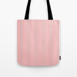 Thin Red Lines Vertical Tote Bag
