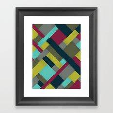 Abstrakt Adventure Ver. 2 Framed Art Print