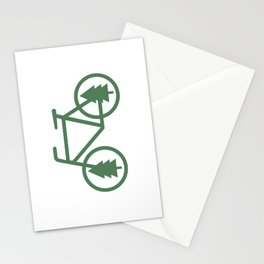 Pacific Northwest Cycling - Bike, Bicycle, Portland, PDX, Seattle, Washington, Oregon, Portlandia Stationery Cards