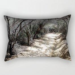 Shadowed Path Rectangular Pillow