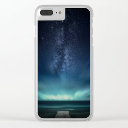 Space Dock Clear iPhone Case