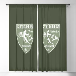 Ketchum Idaho Blackout Curtain