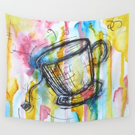 Sunshine and Tea Wall Tapestry