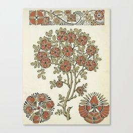 Ornate tree pattern Canvas Print