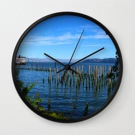 Columbia River Scene Wall Clock