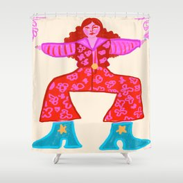 Dancing Queen Shower Curtain