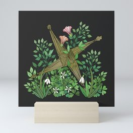 Saint Brigid's Cross in the Celtic Spring Mini Art Print