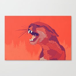 Puma Concolor Canvas Print