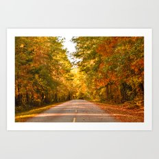 Road to Fall Art Print