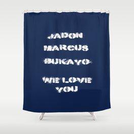 Jadon, Marcus, Bukayo Shower Curtain