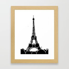 """Eiffel Tower - from """"Further Back"""" series Framed Art Print"""