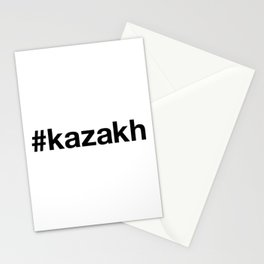 KAZAKH Hashtag Stationery Cards