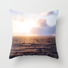 Startdust ocean Throw Pillow