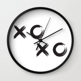 Modern - xoxo Wall Clock