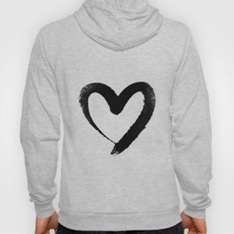 Ink Heart Minimal Fashion Stylish Hoody