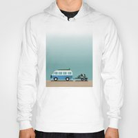 vans Hoodies featuring Surf Vans by Billy Hrncir