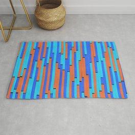 Paper Stripes - Color variation 2 Rug